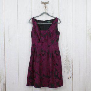 RALP LAUREN Sleeveless Floral Dress Size 8